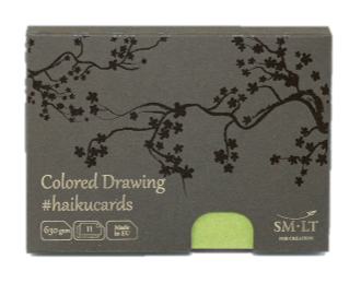 Купить Набор открыток SM-LT Mix Haikucards (цветные) 14, 7x10, 6 см 630 г 11 шт, Smiltainis, Литва
