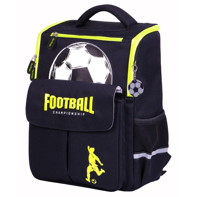 Купить Ранец Berlingo облегченный Concept Футбол 35*27*16 см, 1 отделение, 4 кармана, эргономичная спинка, Германия