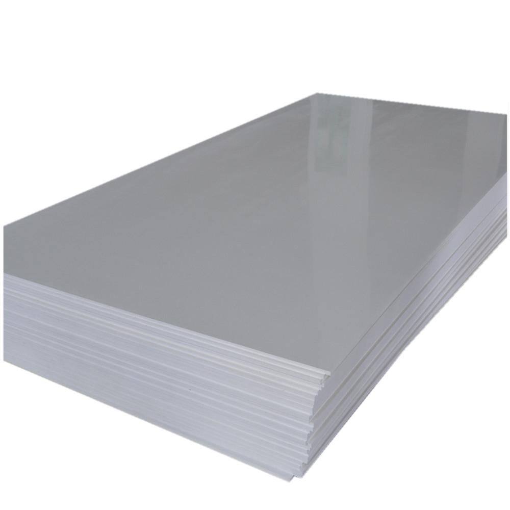 Купить Пенокартон белый 100х140 см, 0, 3 см, глянцевый, Decoriton, Россия