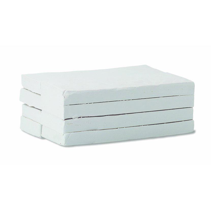 Купить Пластилин школьный мягкий 1 кг Белый, KOH–I–NOOR, Россия