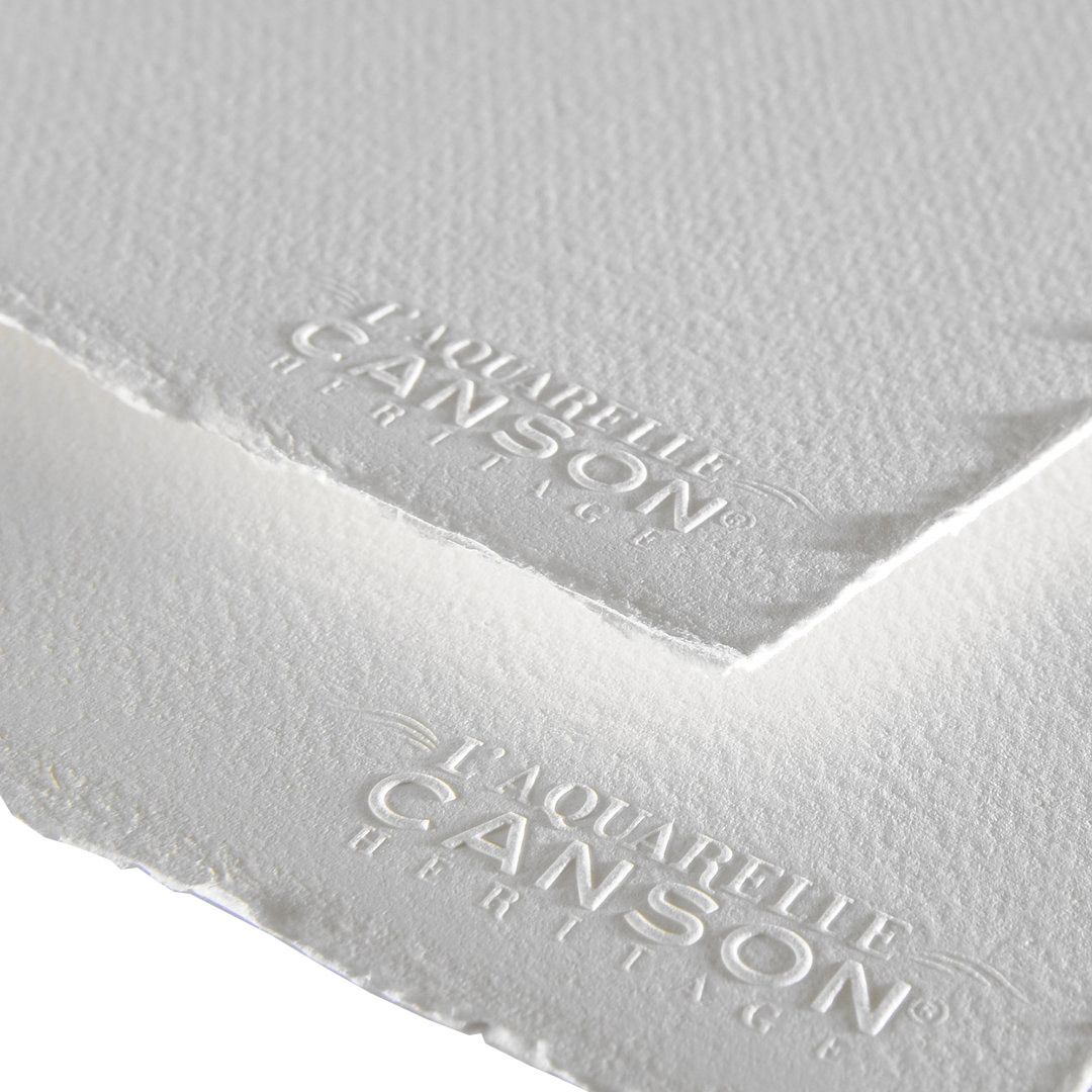 Купить Бумага для акварели Canson Heritage Fin 56х76 см 640 г, Франция