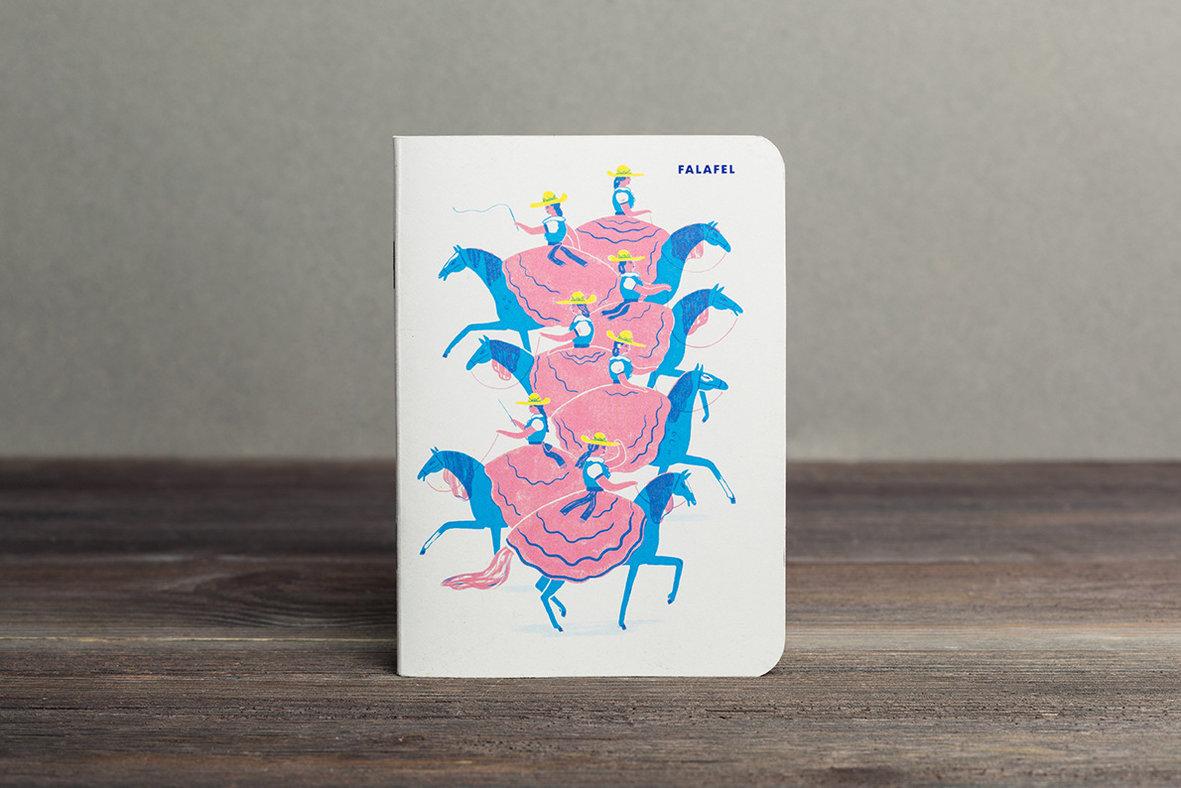 Купить Блокнот FALAFEL BOOKS А6 Mexicana, Россия