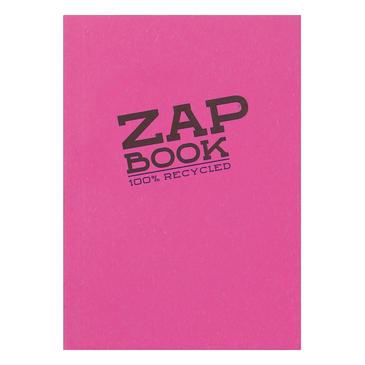 Купить Блокнот-cклейка для сухих техник Clairefontaine Zap Book А6 160 л 80 г, Франция