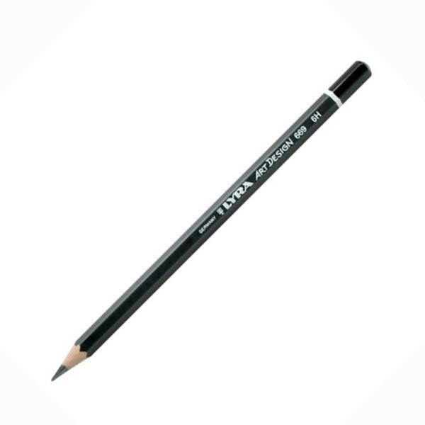 Карандаш чернографитный Lyra ART DESIGN 6H, Германия  - купить со скидкой