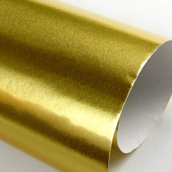 Бумага с фольгированным покрытием Sadipal 50х65 см 225 г цвет Золото фото
