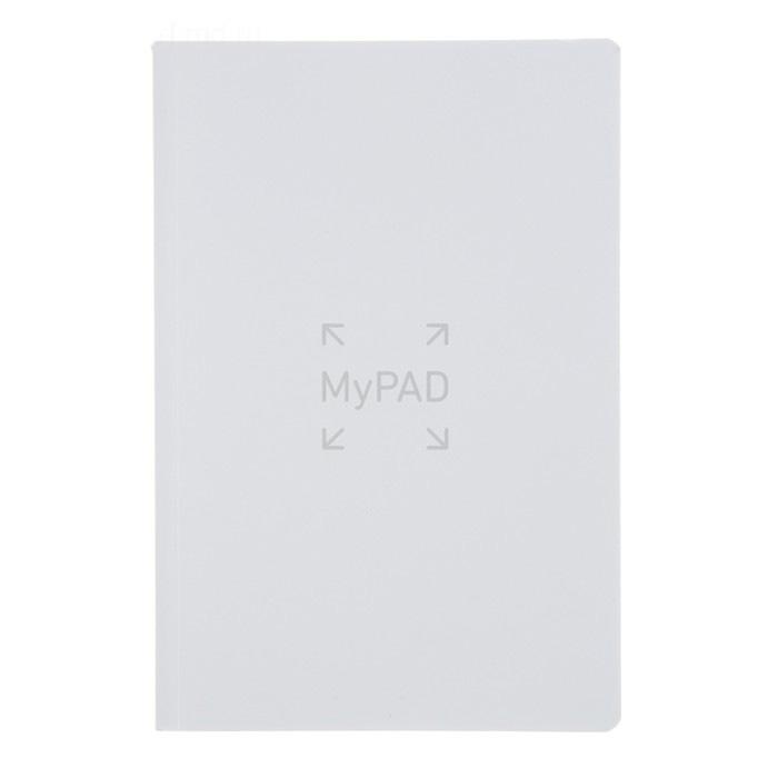 Купить Блокнот в линейку Fabriano MyPad 24х18, 5 см 48 л 85 г, обложка белая, Италия