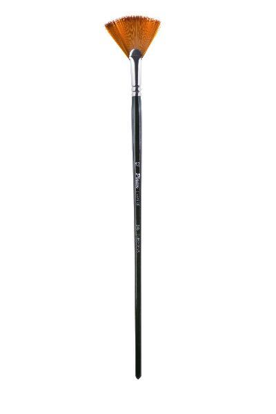 Купить Кисть синтетика №10 веерная Pinax Creative 343 длинная ручка, Китай