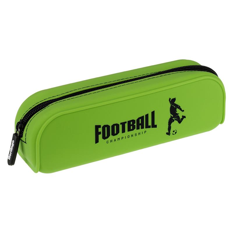 Купить Пенал мягкий Berlingo Football 200*60*50 мм, силикон, Россия