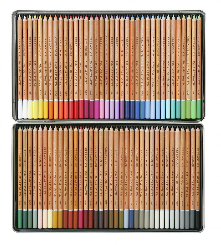 Купить Набор карандашей пастельных Cretacolor Fine Art Pastel 72 шт в металлической коробке, Франция