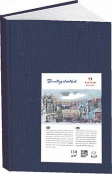 Купить Блокнот для эскизов Лилия Холдинг Travelling sketchbook А6 62 л 130 г Книжный синий, Россия