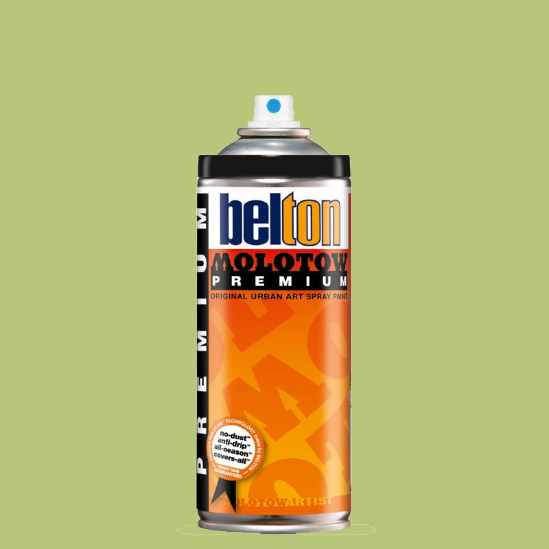 Купить Аэрозольная краска Molotow Premium belton 400 мл #169 green tea, Германия