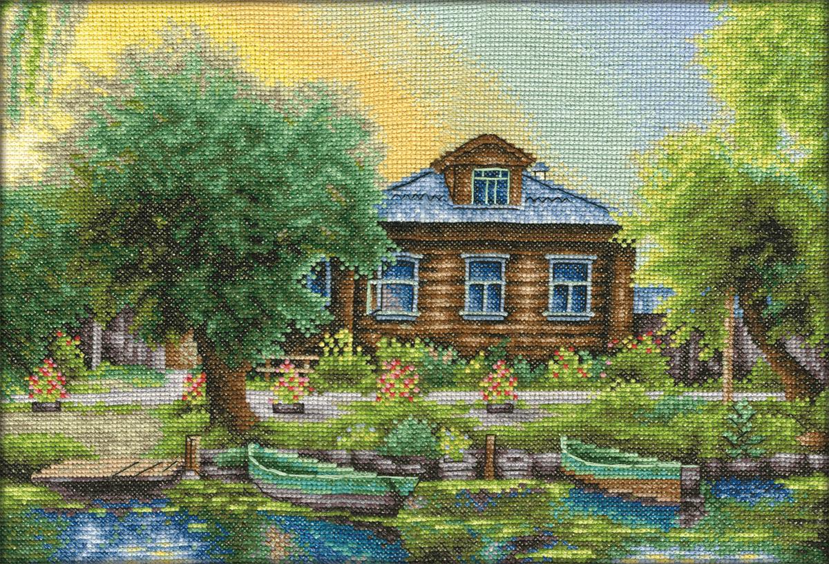Купить Набор для вышивания PANNA Рыбацкая деревня , Gamma, Россия