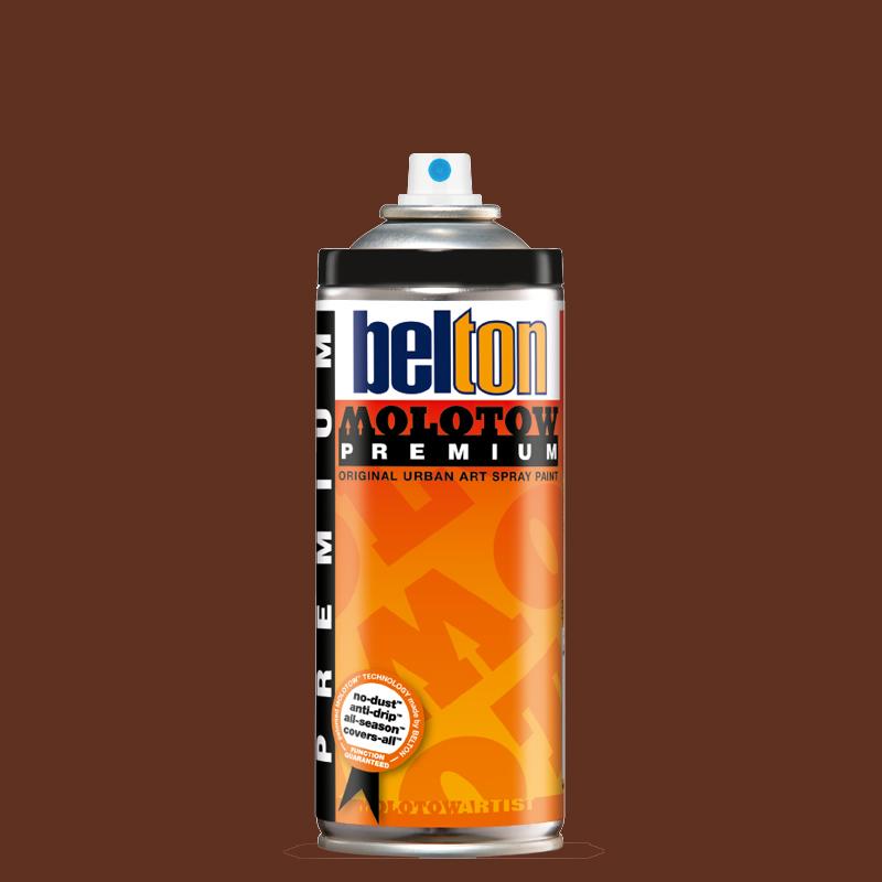 Купить Аэрозольная краска Molotow Premium belton 400 мл #207 hazelnut, Германия
