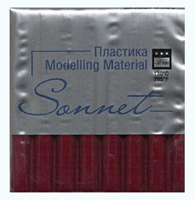 Купить Пластика для запекания Sonnet 56 г Вишневый, Сонет, Россия