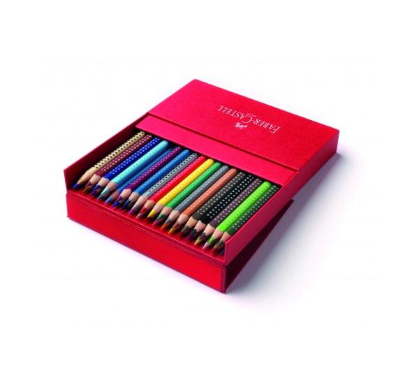 Купить Набор карандашей акварельных Faber-castell Colour Grip 36 цв в пластиковой коробке, Faber–Сastell, Германия