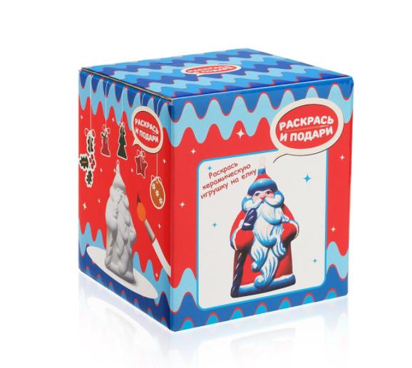 Купить Фигурка для раскрашивания из керамики Дед Мороз , Bumbaram, Россия