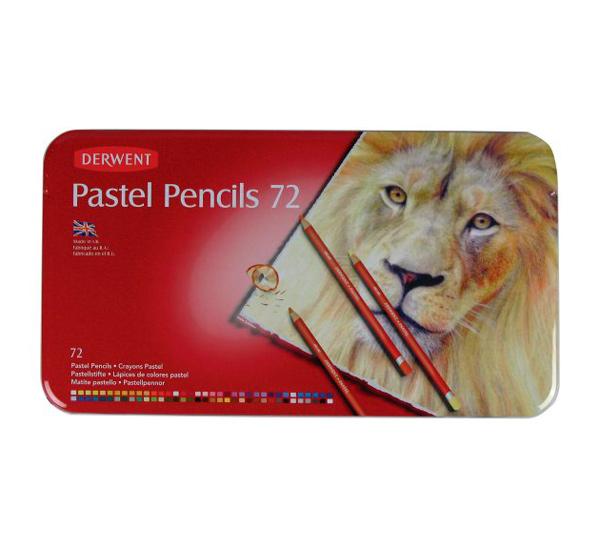 """Набор карандашей пастельных Derwent """"Pastel Pencils"""" 72 цв в метал кор"""