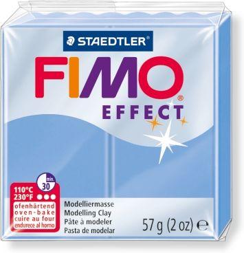 Купить Пластика для запекания Staedtler Fimo Effect 56 г голубой агат, Германия