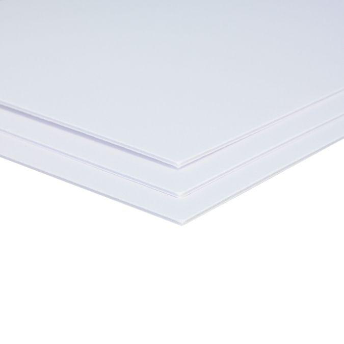 Купить Пенокартон белый 70х100 см 3 мм, Decoriton, Россия