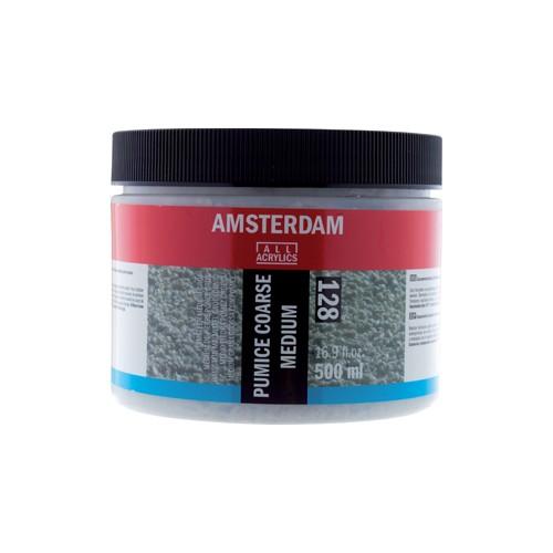 Купить Медиум для придания крупнозернистой структуры Talens Amsterdam №128, 500 мл, Royal Talens