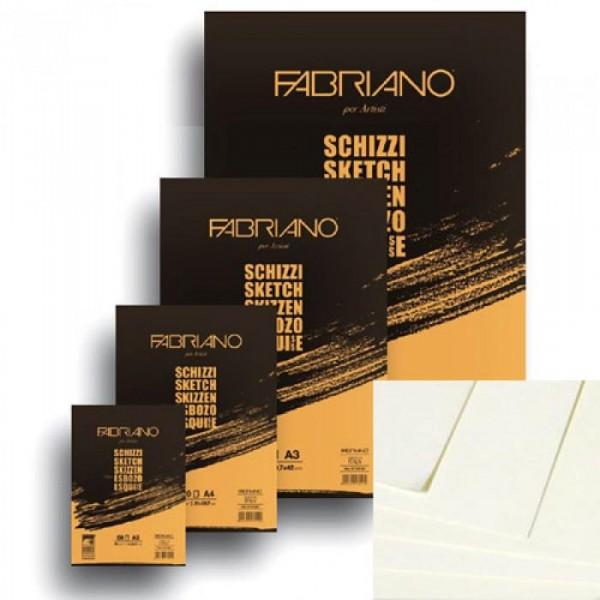 Блокнот для эскизов Fabriano Schizzi , Италия  - купить со скидкой