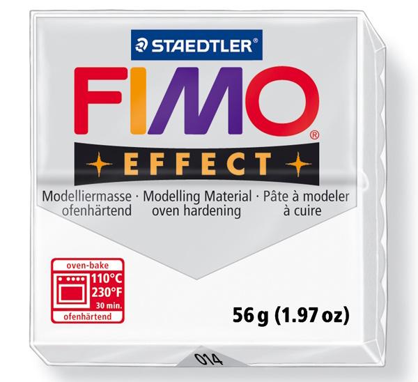 Купить Пластика для запекания Staedtler Fimo Effect 56 г полупрозрачная, Германия