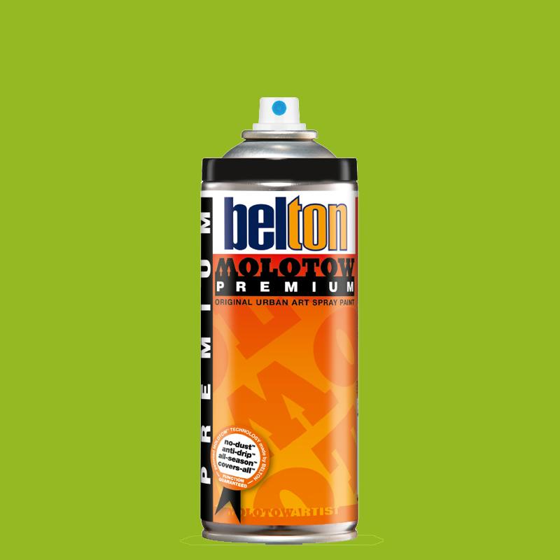 Купить Аэрозольная краска Molotow Premium belton 400 мл #150 kiwi, Германия
