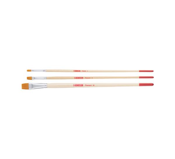 Купить Набор кистей Синтетика Talens Art Creation 3 шт (пл № 4, 8, 16) длинная ручка, Royal Talens