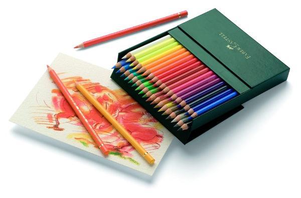 Купить Набор карандашей цветных Faber-castell Polychromos 36 шт проф-ные в пластиковой коробке, Faber–Сastell, Германия