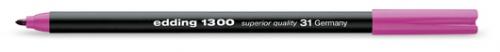 Купить Фломастер Edding 1300 2 мм с круглым наконечником, лаванда, Германия