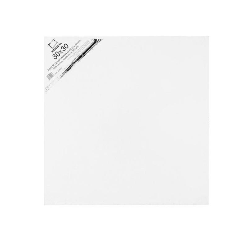 Купить Холст грунтованный на картоне Малевичъ 30x30 см, Россия