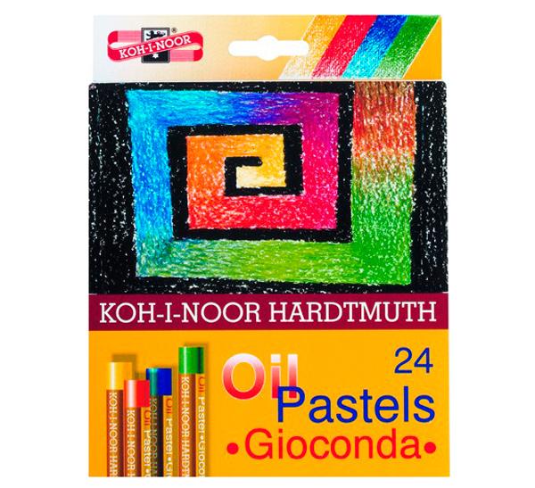 Купить Набор масляной пастели Koh-I-Noor 24 цв, KOH–I–NOOR, Чехия