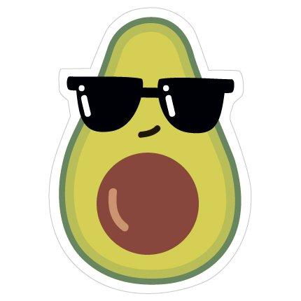 Купить Значок Авокадо в очках , Kawaii Factory, Китай