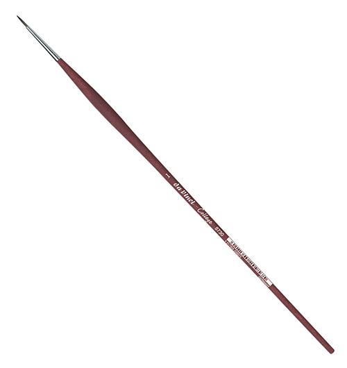 Купить Кисть синтетика №1 круглая Da Vinci 8730 длинная ручка, Германия