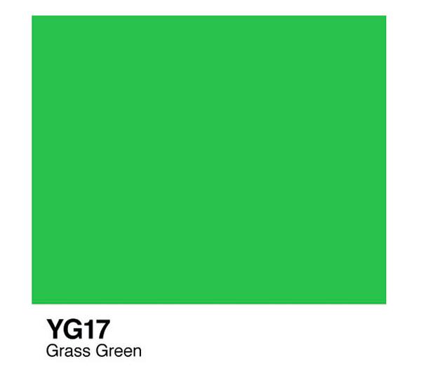 Чернила COPIC YG17 (зеленая трава) фото