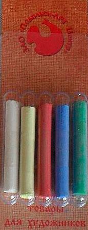 Купить Набор сухой пастели Подольск Арт Центр 5 цв в блистере, Россия