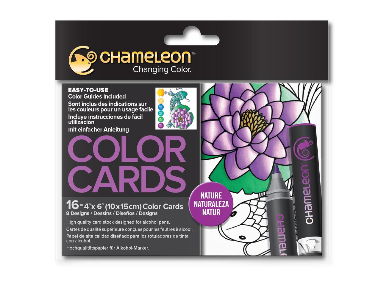 Раскраска-склейка Chameleon Nature Природа