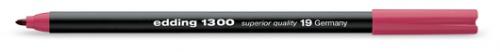 Купить Фломастер Edding 1300 2 мм с круглым наконечником, фуксия, Германия