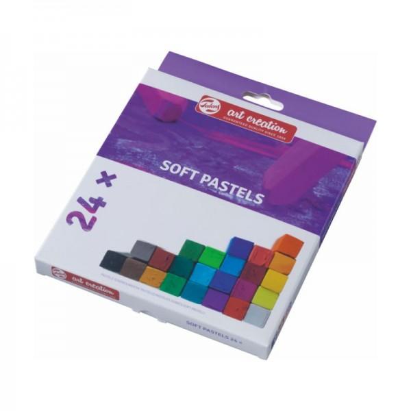 Купить Набор сухой пастели Talens Art Creation 24 цв, Royal Talens
