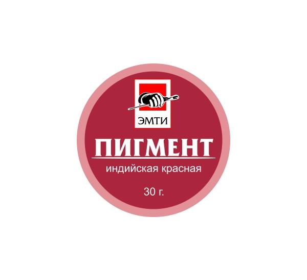 Купить Пигмент Эмти Индийская красная 30 г, Россия