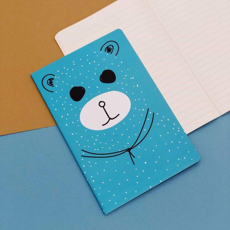 Купить Тетрадь Bear , blue, iLikeGift, Китай