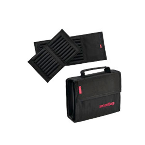 Купить Пенал для маркеров Copic пустой на 36 шт sensBag черный, Copic Too (Izumiya Co Inc), Германия