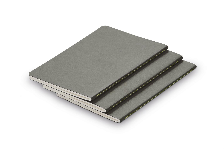 Купить Набор из 3-х тетрадей LAMY А6 64 л, цвет серый, Германия