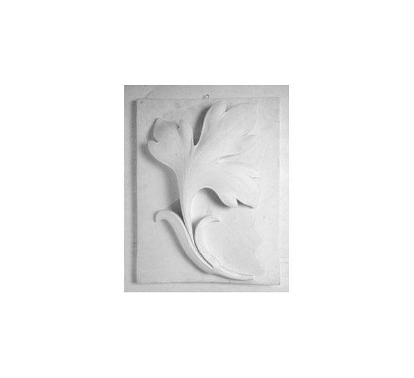 Купить Гипс Орнамент №33 Ветка лотоса (выпуклая), Черная речка, Россия