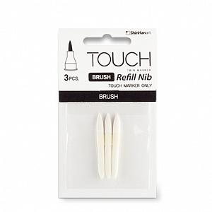 Купить Набор перьев Brush Tip 3 шт, перо-кисточка, ShinHan Art (Touch), Южная Корея