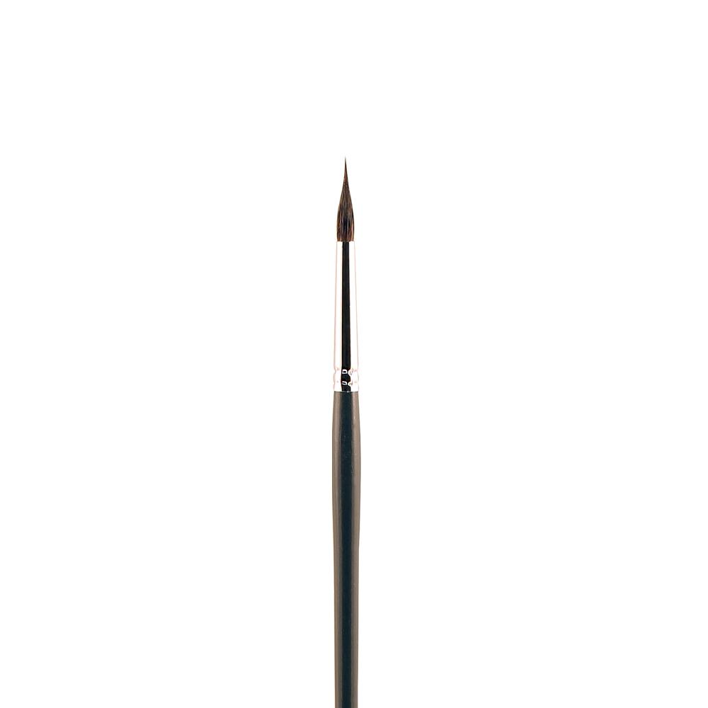 Купить Кисть белка №7 круглая с заостренной вершинкой Альбатрос Line длинная ручка, Россия