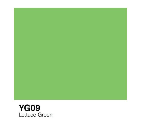 Чернила COPIC YG09 (зеленый латук, lettuce green) фото