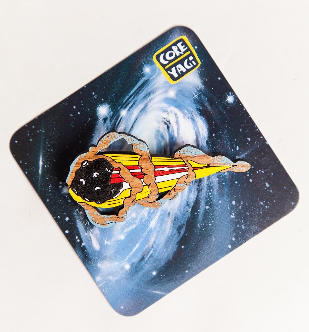 Купить Брошь COREYAGI Комета, Россия