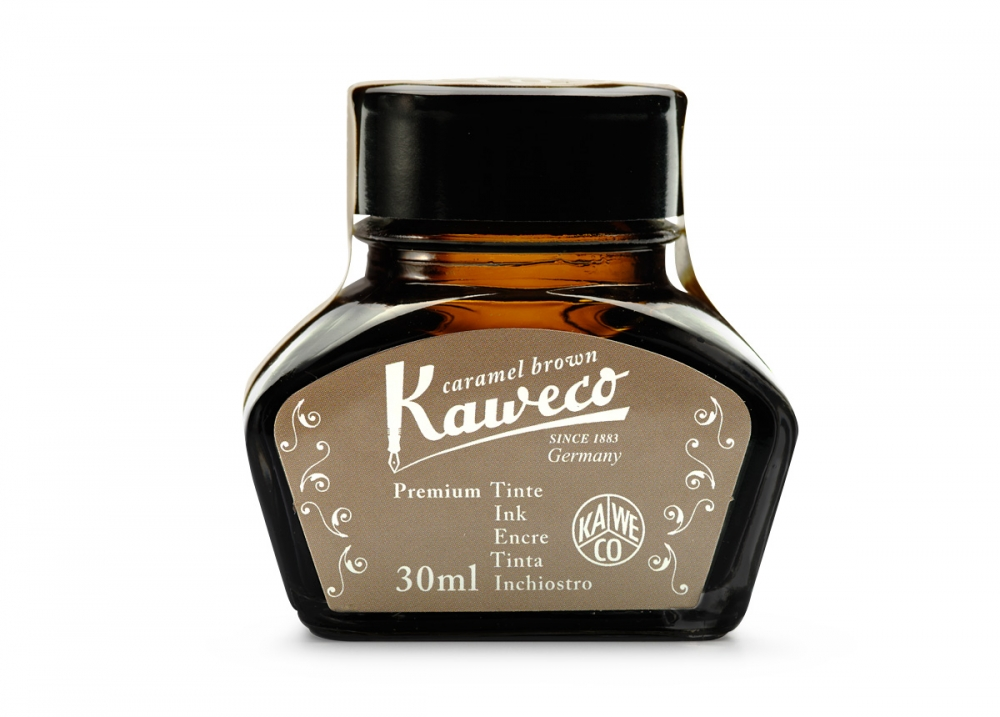 Купить Чернила Kaweco в банке 30 мл Карамельно-коричневый, Германия