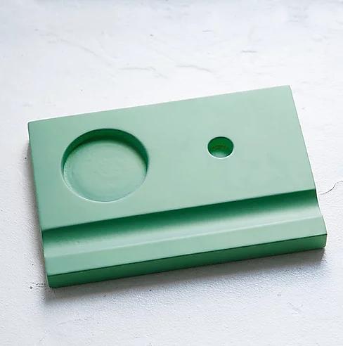 Купить Подставка для чернильницы-непроливайки, цвет зеленый, HILLANDMILL, Россия